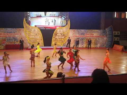 Hanoi Open International Dancesport Championship 2018-Junior Solo Cha Cha Round 3-23/9/18-Chloe Iu