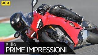 Ducati Panigale V4 @ Valencia - FIRST IMPRESSIONS! [ENGLISH SUB]