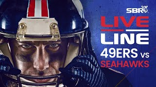 49ers vs. Seahawks Sunday Night Football In-Game Betting & Odds Analysis | Live Line