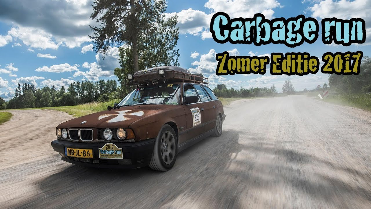 Carbage Run Zomer Editie 2017 Official Aftermovie Youtube