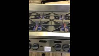 17192 Vulcan 6 burner hot plat…