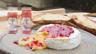 Baked Brie Cheese Recipe With Roasted Capsicum Jam - Geoff Jansz