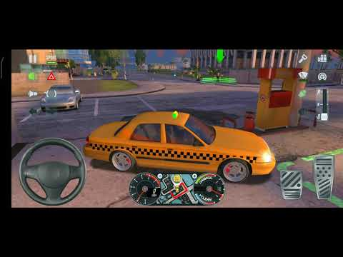 Taxi SIM 2020, Level Miami, Ford Crown Victoria cab., Android & iOS Game (offline)