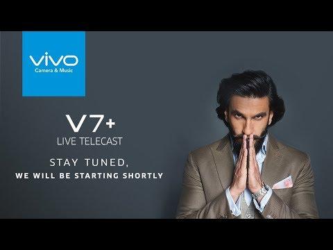 Vivo V7Plus Clearer Selfie Launch Event