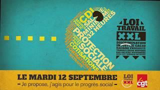 12 septembre : la CGT se mobilise contre la Loi Travail
