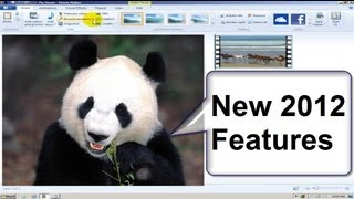 Windows Movie Maker NEW FEATURES  Windows 7 2012 Tutorial Free & Easy