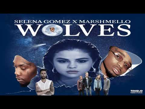Wolves Mashup - (Selena Gomez, Marshmello, Migos, Imagine Dragons, Maroon 5)