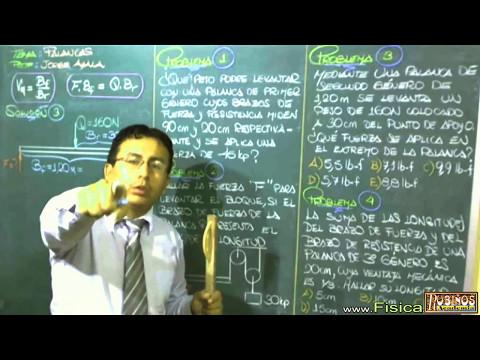 palanca-mecánica-problemas-resueltos-de-equilibrio-y-estática