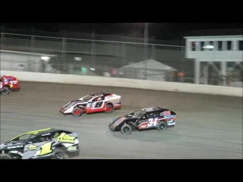 I 55 Raceway 8 20 2016 A Mod Heat Race #3 & Feature Dave Armstrong #34