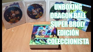 [4K] Unboxing Dragon Ball Super: BROLY - Edición Coleccionista (Bluray+DVD)
