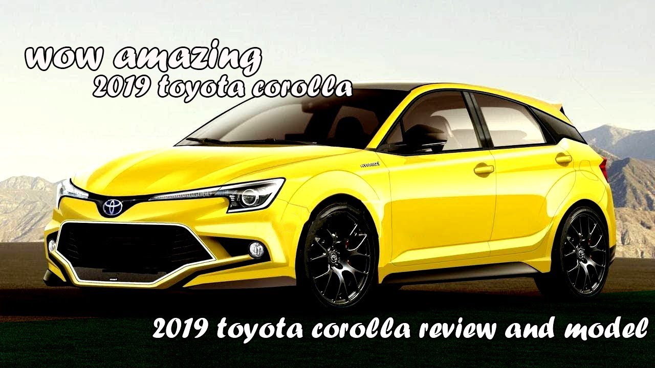 2019 toyota corolla youtube. Black Bedroom Furniture Sets. Home Design Ideas