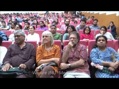 Kanhaiya Kumar speaking at Jashn-e-Azadi Seminar on birth anniversary of Bipan Chandra
