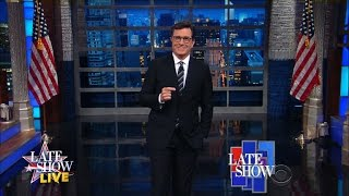 DNC Day One: Hillary's Terrible, Horrible, No Good, Very Bad Day by : The Late Show with Stephen Colbert