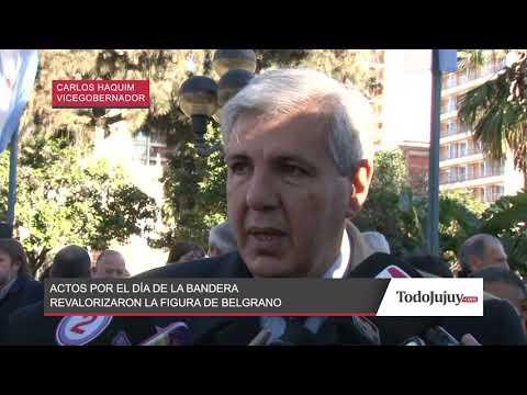 Jujuy celebró el Día de Bandera y resaltó la figura de Manuel Belgrano