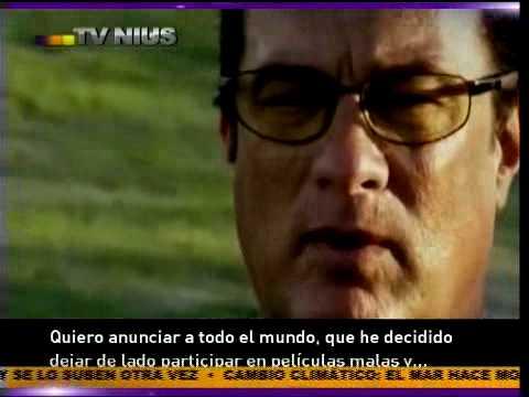 TVNIUS - Steven Seagal...