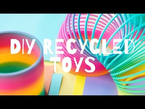 DIY RECYCLED KIDS TOYS AND GAMES| РАЗВИВАШКИ ДЛЯ ДЕТЕЙ| SENSORY PLAY