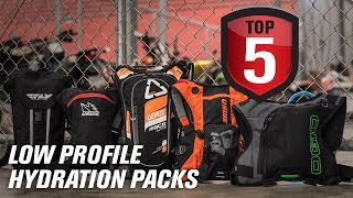 Top 5 Low Profile Hydration Packs for Dirt Bike Races and Rides