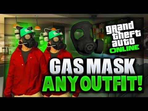 GTA 5 Online - Wear Gas Mask With Any Outfit! 1 25/26 Gas