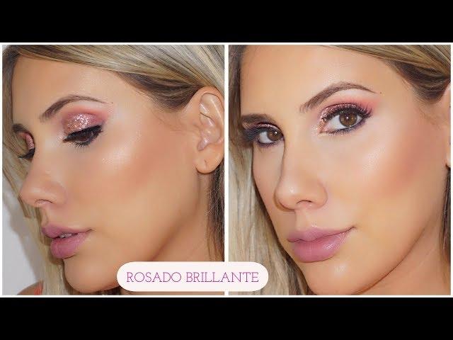 Maquillaje de fiesta Rosado - Carolina Ortiz