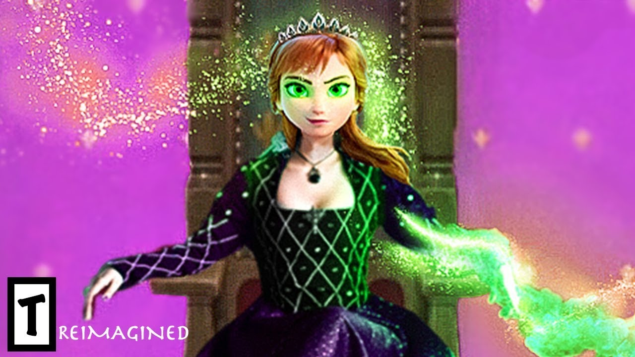 Download Anna Turns Into The Evil Queen Of Arendelle In Frozen 3