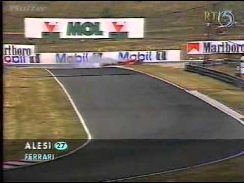 1995 Hungaroring Alesi 1st Qualifying
