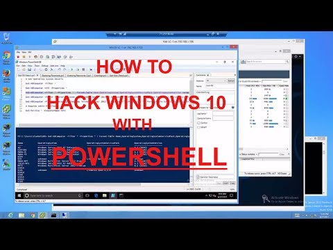 How to hack Windows with  POWERSHELL (FULL Mile2 CPTE Course)