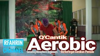 Aerobic pemula sweating movement beginners Berkeringat gerakan pemula part 2 Q Cantik Aerobic