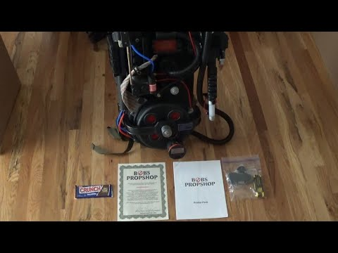ghostbusters-proton-pack-from-bob's-prop-shop-unboxing-and-review-!!!