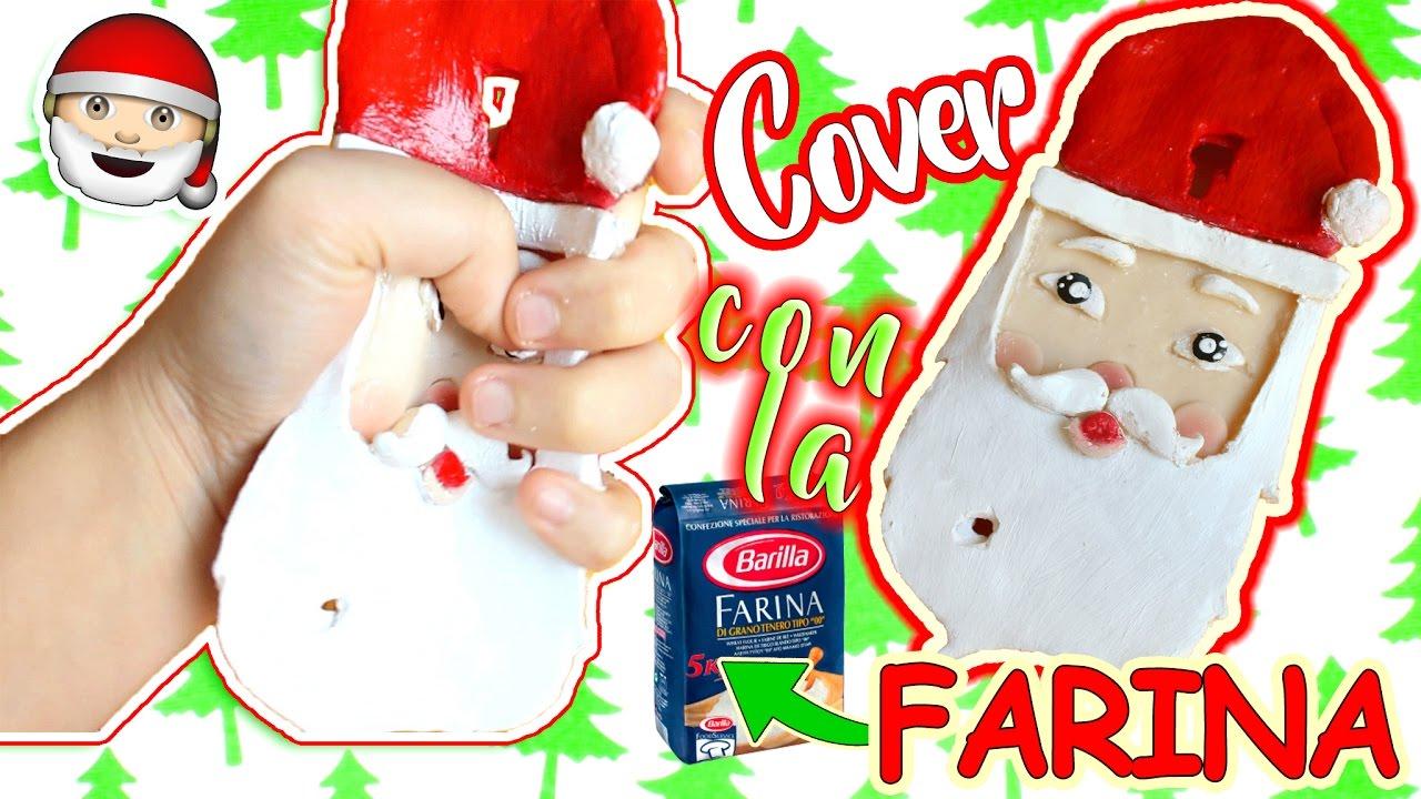 Immagini Natalizie Kawaii.Facciamo Una Cover Babbo Natale Kawaii Con Farina Youtube
