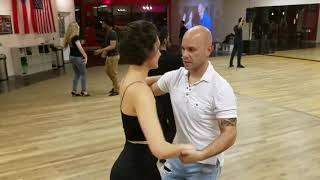 Jose Maldonado Salsa On2 Intermediate Moves at PasoFino Dance Studio