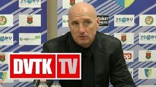 Kuttor Attila értékelése   Mezőkövesd - DVTK   2017. december 2.   DVTK TV
