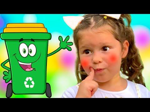 Clean Up Trash Song  Agnes Nursery Rhymes & Kids Songs