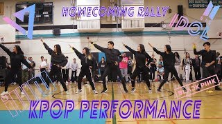 LOST CARDS - Burton Homecoming Rally KPOP PERFORMANCE