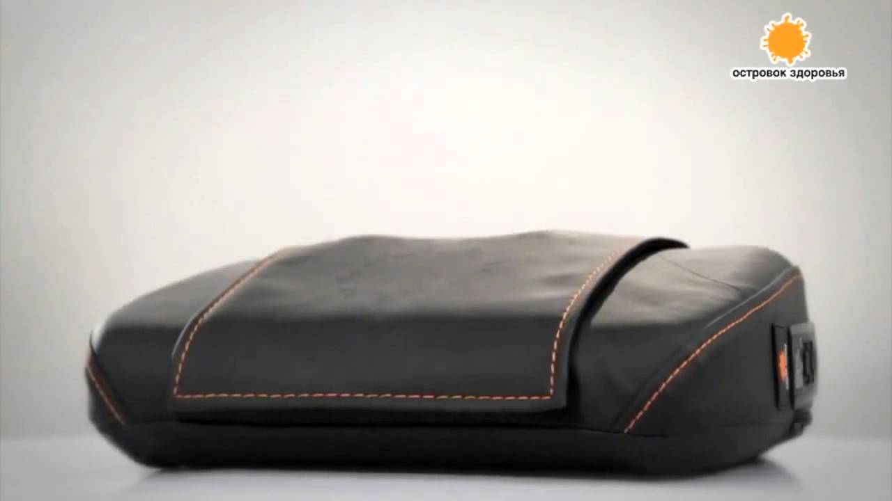 На выбор пользователя предложены шесть массажных программ; антистрессовый разминающий массаж шейно-воротниковой зоны; роликовый трехмерный массаж мышц спины; расслабляющий массаж вибрационным воздействием; чрезвычайно портативный и компактный массажный атрибут.