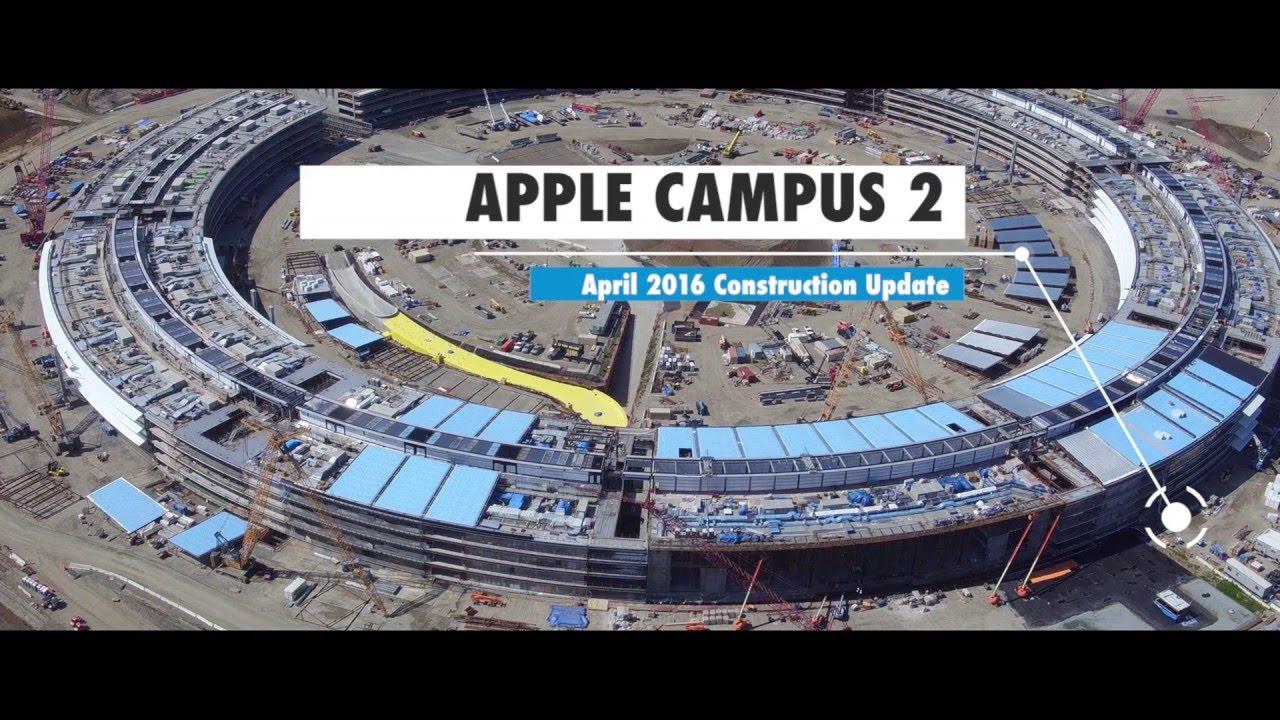 Apple's New Spaceship Headquarters is ENORMOUS
