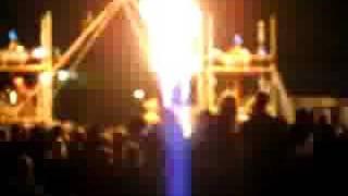 Fire Show Shangri-La / Trash City Glastonbury 08