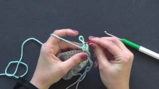 how to half double crochet cat week 2
