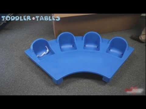 Toddler Tables: Junior Table Assembly Video