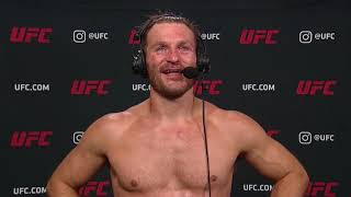 UFC 252: Stipe Miocic Interview after defending Heavyweight Title