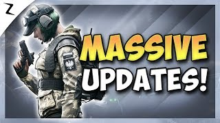 Massive Updates! Season 2! Quarantine! - Rainbow Six Siege