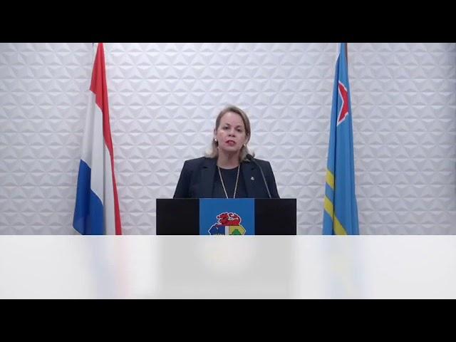 Evelyn W Croes 6 mei 2020 Apertura di nos turismo