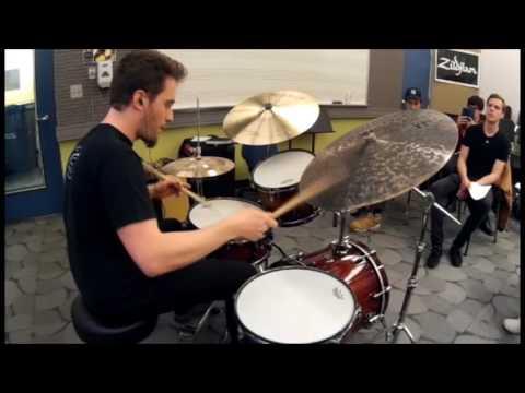 Ruben Bellavia | Tony Williams transcription live at Berklee College of Music