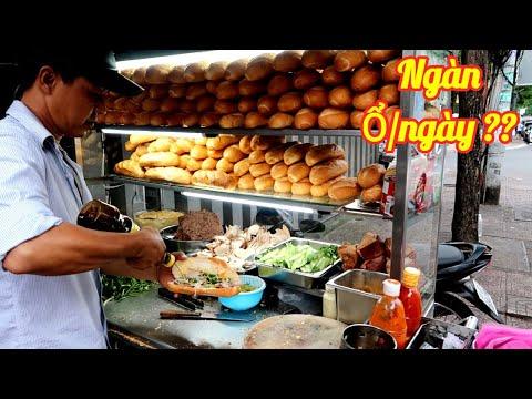 Kiểm chứng Xe bánh mì Thịt Chả 18k bán ngày cả ngàn ổ ngay trung tâm Sài Gòn | Saigon Travel