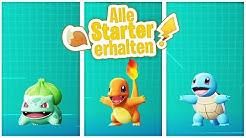 ALLE Starter Bisasam, Glumanda & Schiggy SCHNELL bekommen | Pokemon Let's Go Pikachu & Evoli