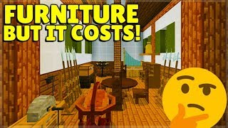 Furniture DLC Added To Minecraft But There Is A Problem! (DO NOT GET SCAMMED)