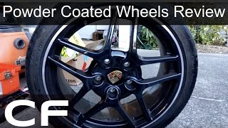 Video ✪ Should you Powder Coat your wheels? 1 year review on my  Porsche 911 (997) ✪ download MP3, 3GP, MP4, WEBM, AVI, FLV Mei 2018
