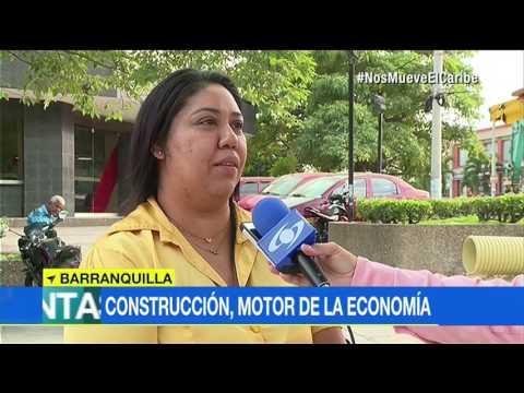 Barranquilla y Cartagena avanzan con la construcción mientras que Santa Marta sobrevive del rebusque