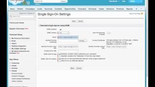 Salesforce - SAML - OneLogin