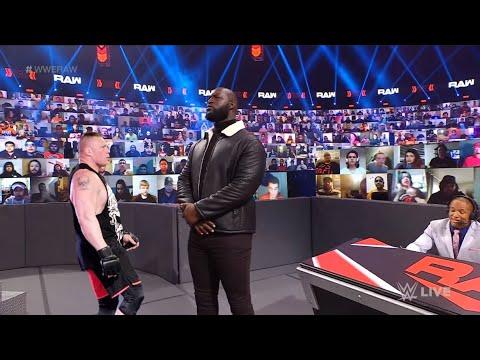 Download WWE 23 April 2021 Brock Lesnar is back and face Omos, Brock Lesnar vs Omos vs Aj Styles
