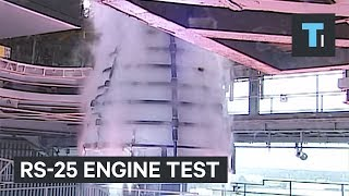 Watch NASA test the monster engine that will launch the most powerful rocket in history